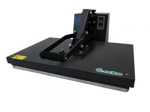 a picture about heat press machine of t shirt printing